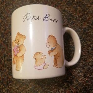 Papa Bear Beverage Drink Coffee Tea Cup Mug